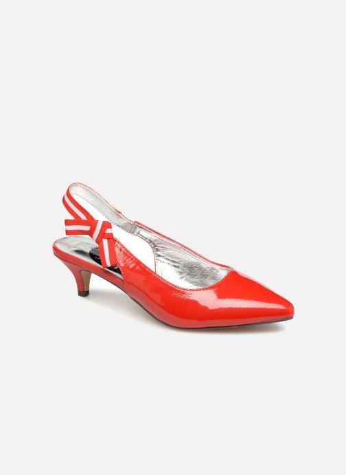 Escarpins I Love Shoes Thanon Rouge vue détail/paire