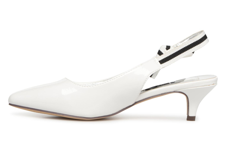 Escarpins I Love Shoes Thanon Blanc vue face