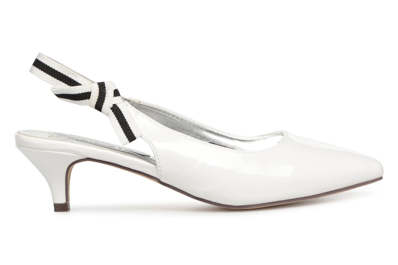 Escarpins I Love Shoes Thanon Blanc vue derrière