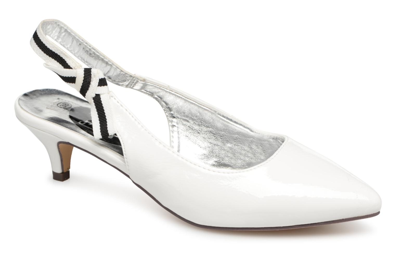 Escarpins I Love Shoes Thanon Blanc vue détail/paire