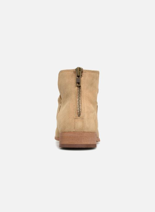 Ankle boots Shoe the bear Soho Beige view from the right