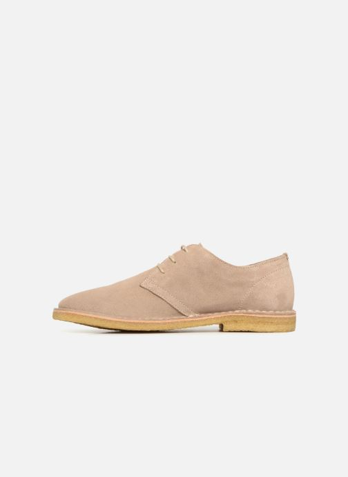 Lace-up shoes Shoe the bear Tyler Beige front view