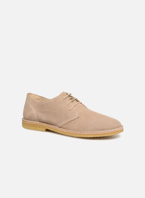 Veterschoenen Shoe the bear Tyler Beige detail