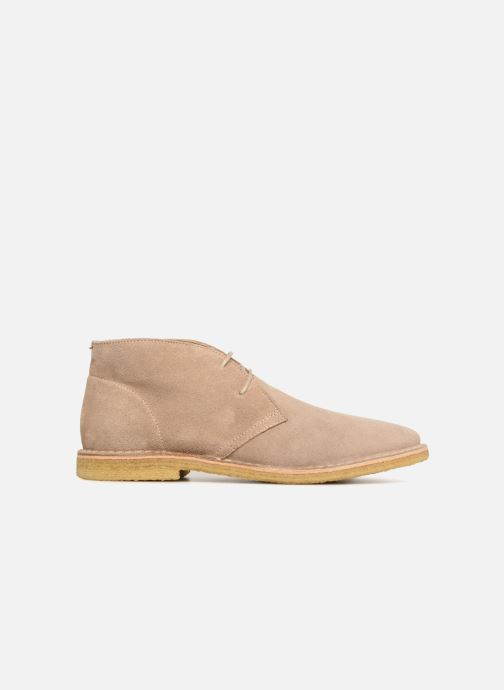 Ankle boots Shoe the bear Edward Beige back view