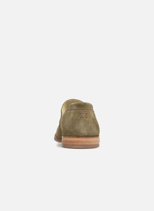 Mocassins Shoe the bear Dylan Vert vue droite