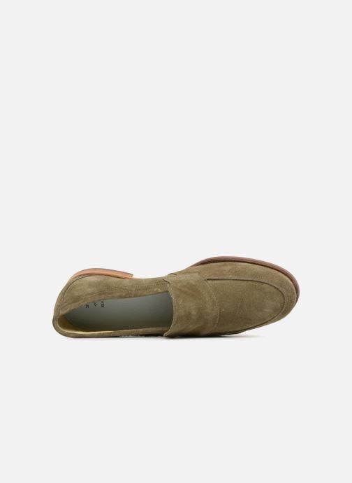 Mocassins Shoe the bear Dylan Vert vue gauche