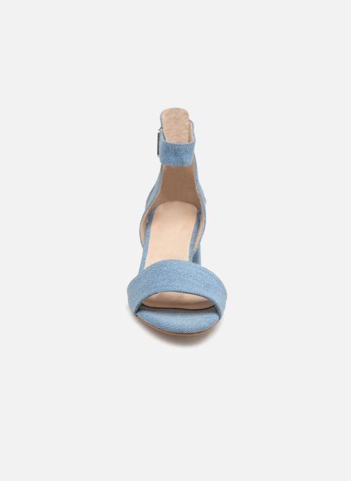 Sandales et nu-pieds Shoe the bear May Bleu vue portées chaussures