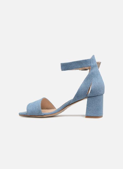 Sandales et nu-pieds Shoe the bear May Bleu vue face