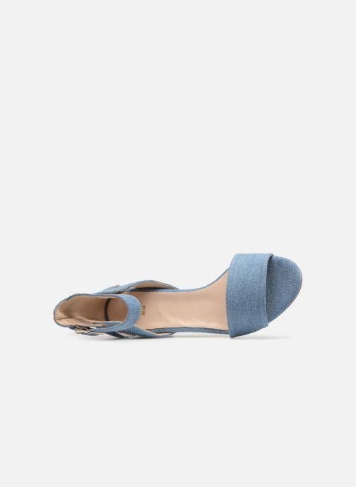 Sandales et nu-pieds Shoe the bear May Bleu vue gauche
