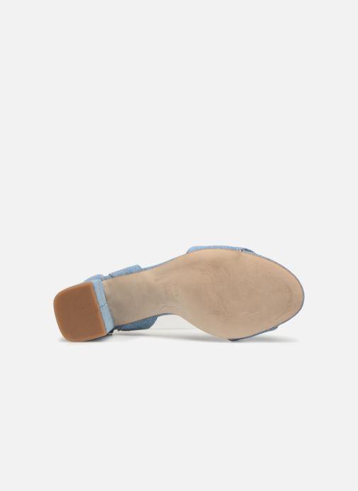 Sandales et nu-pieds Shoe the bear May Bleu vue haut