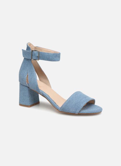 Sandales et nu-pieds Shoe the bear May Bleu vue détail/paire