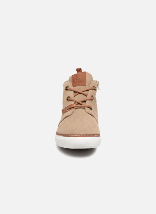 Baskets Gioseppo Projekt Beige vue portées chaussures