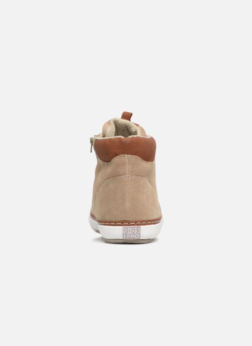 Baskets Gioseppo Projekt Beige vue droite