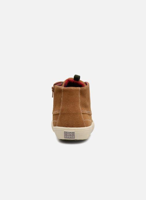 Sneakers Gioseppo Depeche Bruin rechts