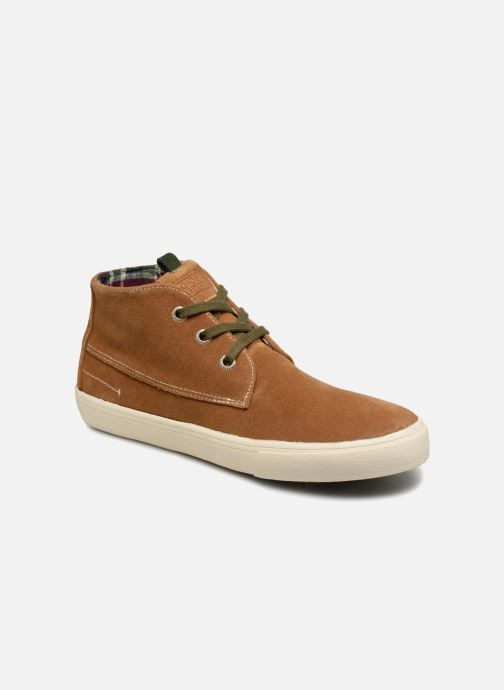 Sneakers Gioseppo Depeche Bruin detail