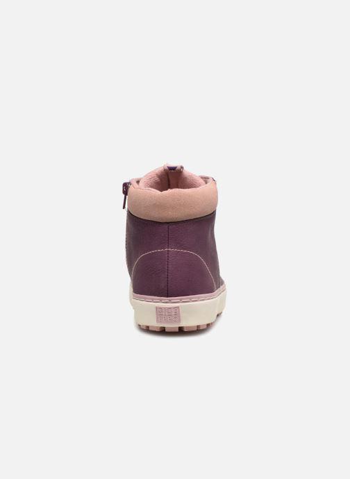 Sneaker Gioseppo Ashly weinrot ansicht von rechts