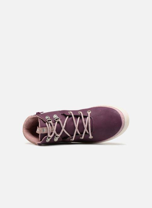 Sneaker Gioseppo Ashly weinrot ansicht von links