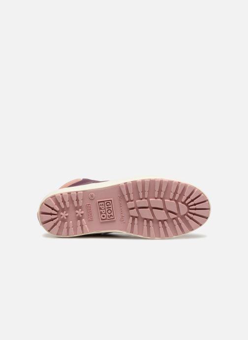 Sneaker Gioseppo Ashly weinrot ansicht von oben