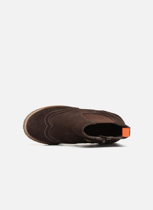 Bottines et boots Gioseppo Austin Marron vue gauche