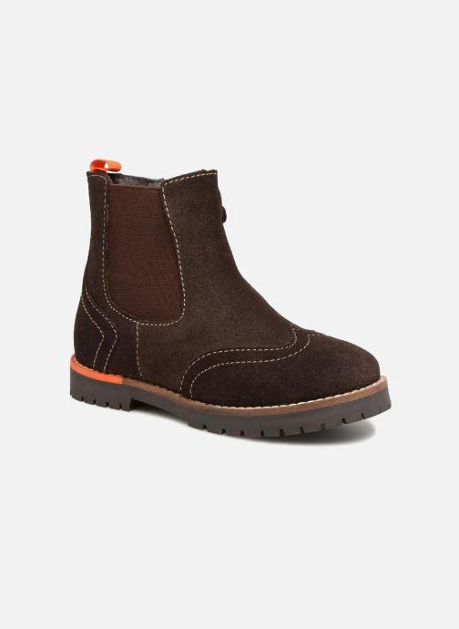 Bottines et boots Gioseppo Austin Marron vue détail/paire