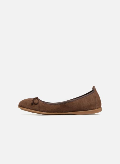 Ballet pumps Gioseppo Yarisnuv Brown front view