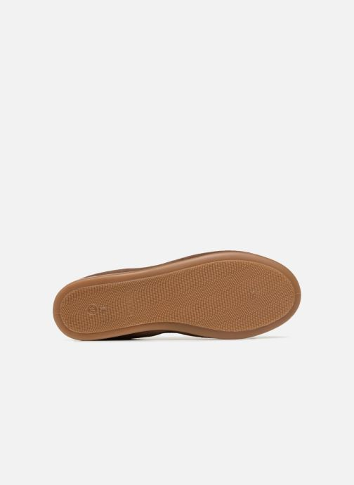 Ballet pumps Gioseppo Yarisnuv Brown view from above
