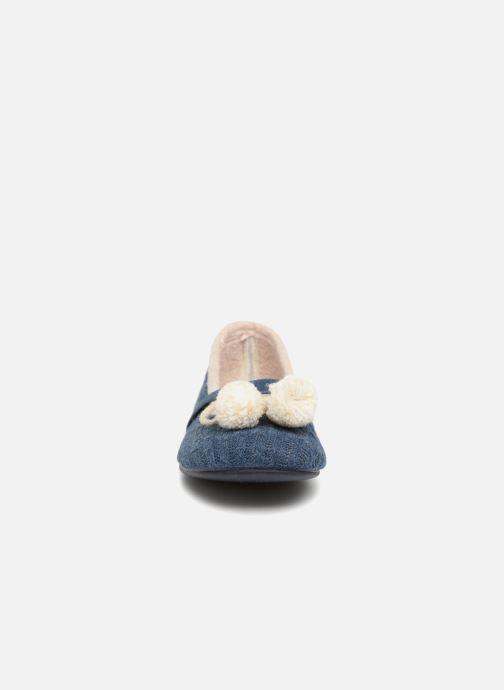 Ballerines Gioseppo Mambi Bleu vue portées chaussures