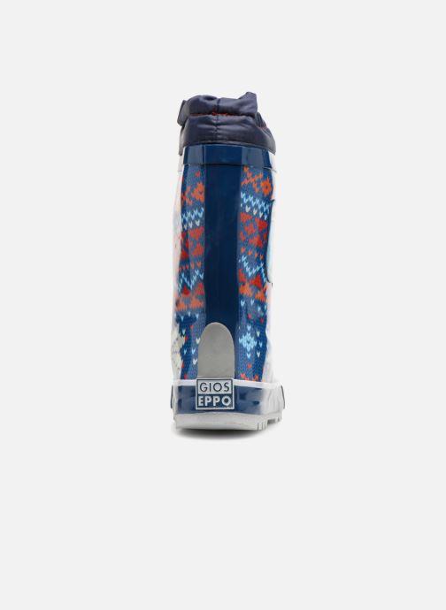 Zapatillas de deporte Gioseppo 40731 Azul vista lateral derecha