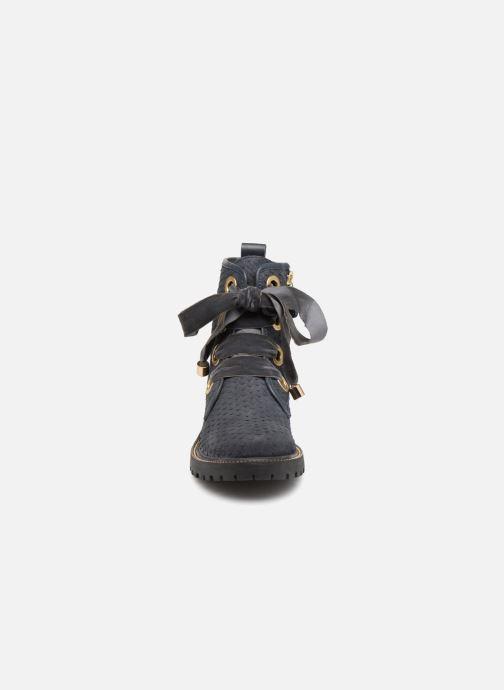 Bottines et boots Gioseppo 41555 Bleu vue portées chaussures