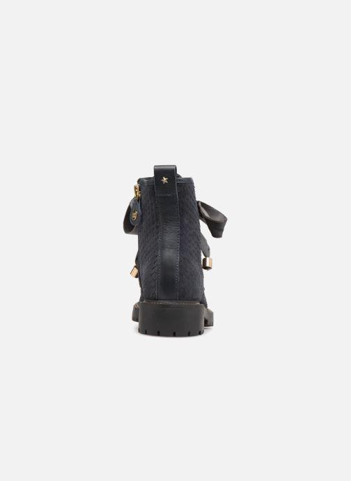 Bottines et boots Gioseppo 41555 Bleu vue droite