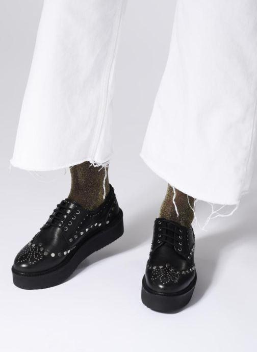 Gioseppo Sarenza 344892 42004 noir Chez À Chaussures Lacets qfqPxr16