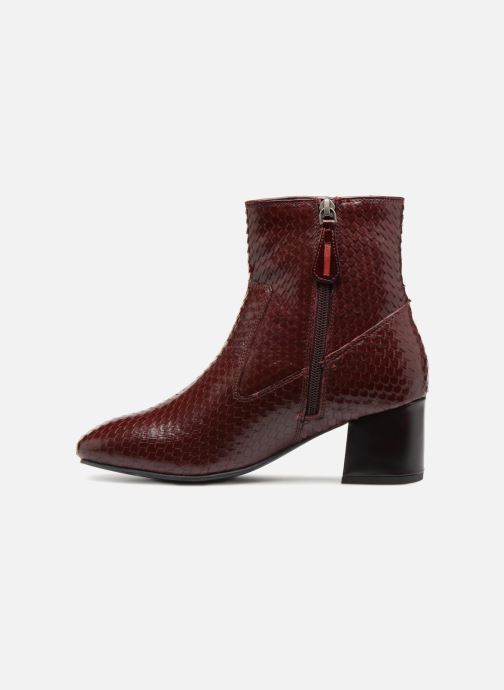Ankle boots Gioseppo 42104 Burgundy front view