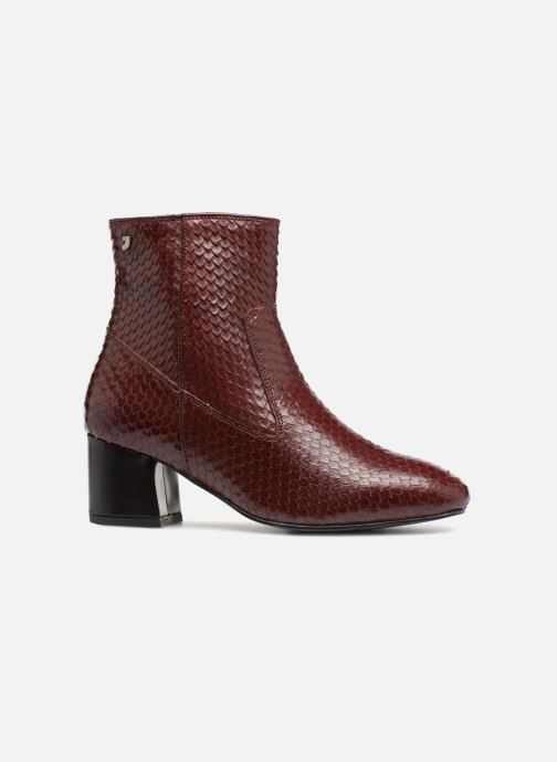 Ankle boots Gioseppo 42104 Burgundy back view