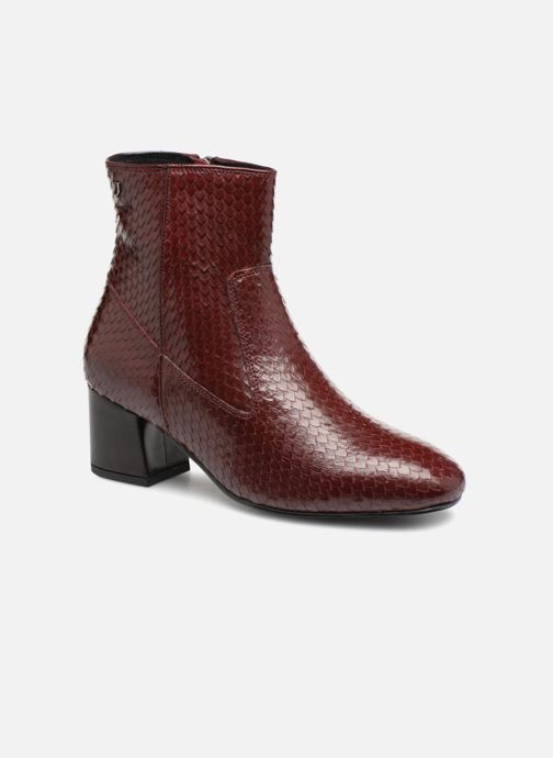 Ankle boots Gioseppo 42104 Burgundy detailed view/ Pair view