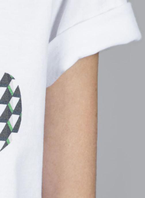 Vêtements Made by SARENZA T-Shirt Garance Made By Sarenza x Elise Chalmin Blanc vue droite