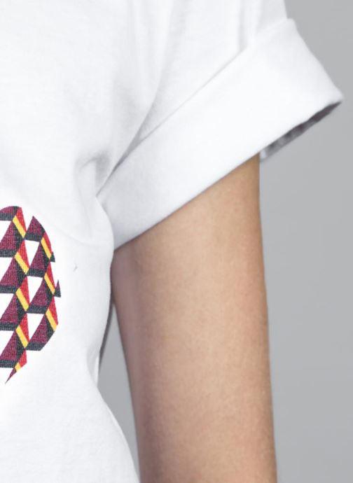 Kleding Made by SARENZA T-Shirt Garance Made By Sarenza x Elise Chalmin Wit rechts