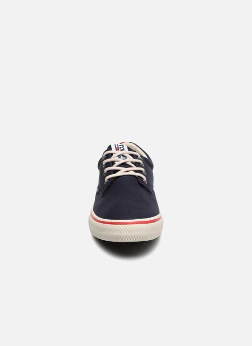 Baskets Tommy Hilfiger Textile sneaker Bleu vue portées chaussures