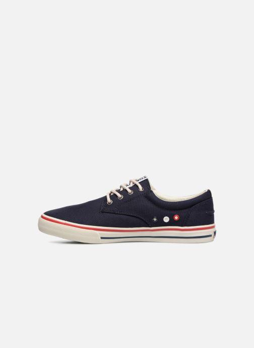 Deportivas Tommy Hilfiger Textile sneaker Azul vista de frente