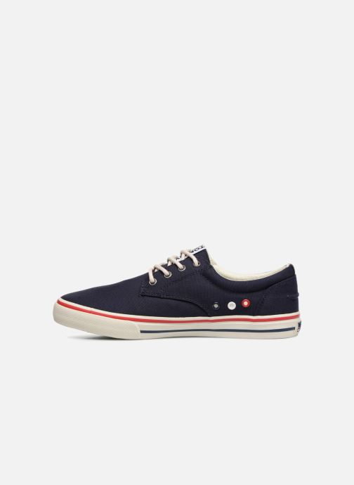 Sneakers Tommy Hilfiger Textile sneaker Blauw voorkant