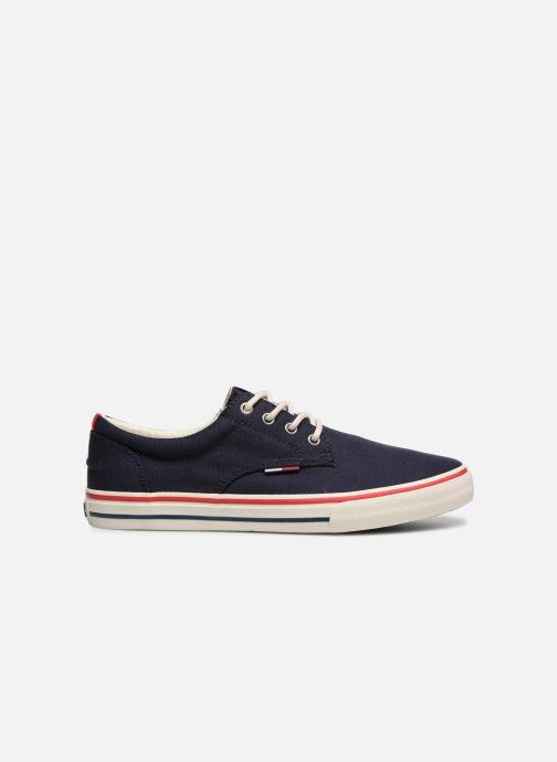 Sneakers Tommy Hilfiger Textile sneaker Blauw achterkant