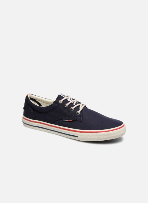 Deportivas Tommy Hilfiger Textile sneaker Azul vista de detalle / par