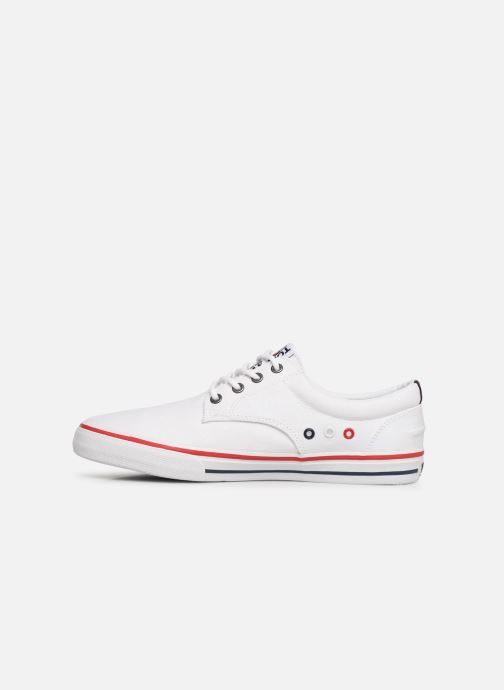 Deportivas Tommy Hilfiger Textile sneaker Blanco vista de frente