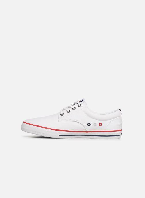 Sneakers Tommy Hilfiger Textile sneaker Wit voorkant