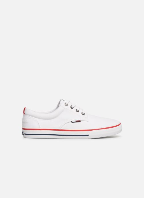 Sneakers Tommy Hilfiger Textile sneaker Wit achterkant