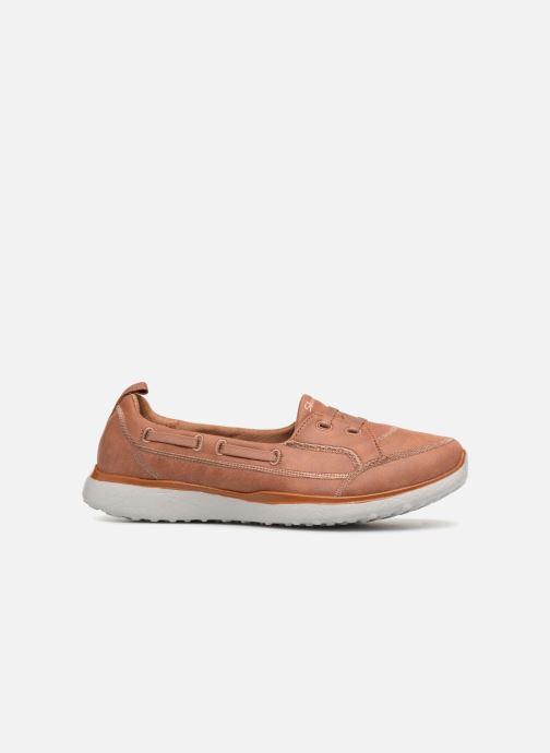 Sneakers Skechers MicroburstDearest Brun bild från baksidan