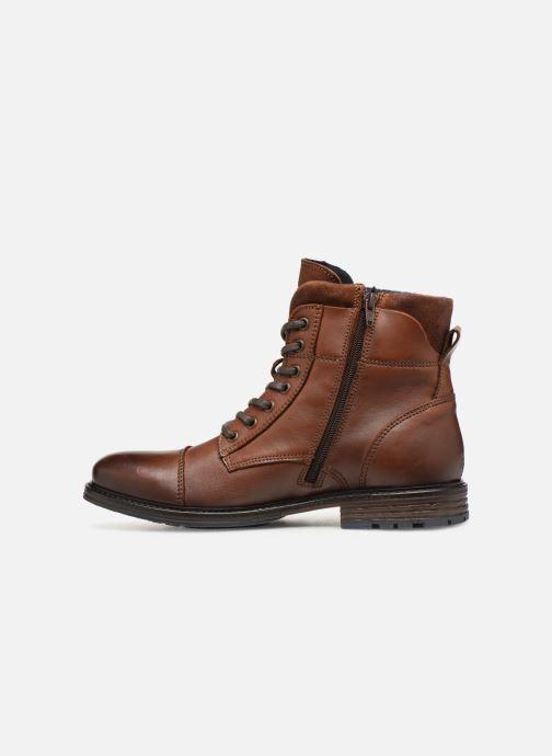 Bottines et boots Mustang shoes Wilfried Marron vue face