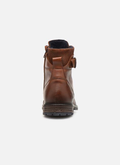 Bottines et boots Mustang shoes Wilfried Marron vue droite