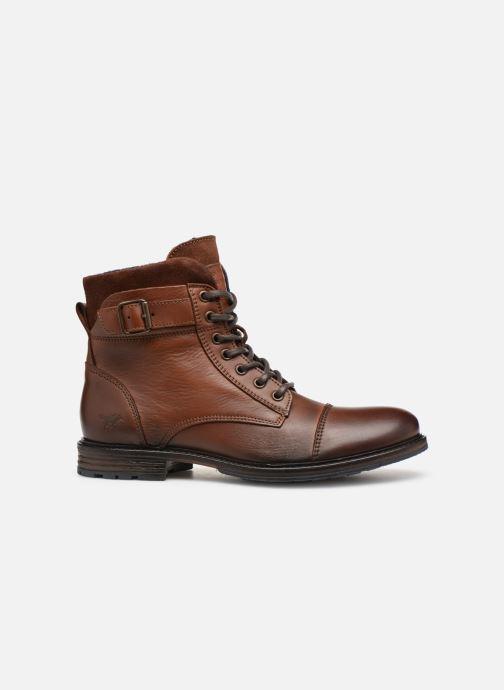 Bottines et boots Mustang shoes Wilfried Marron vue derrière