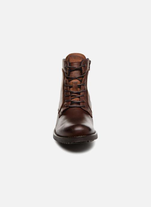 Bottines et boots Mustang shoes Jil Marron vue portées chaussures