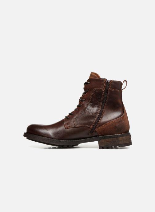 Stiefeletten & Boots Mustang shoes Jil braun ansicht von vorne